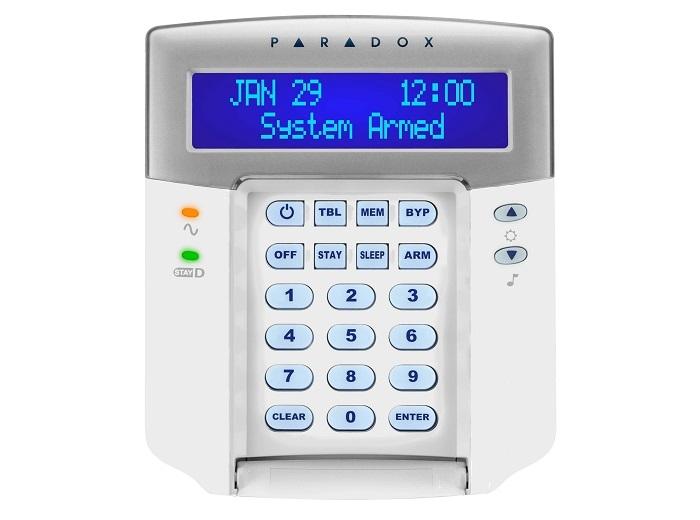 TASTATURA CABLATA LCD CU 32 ZONE