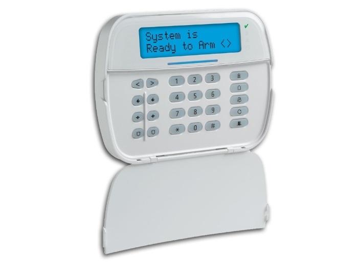 TASTATURA LCD CU ICONURI CABLATA 128 ZONE +CITITOR