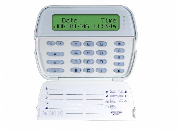 TASTATURA LCD 64 ZONE CU MODUL RECEPTOR RADIO