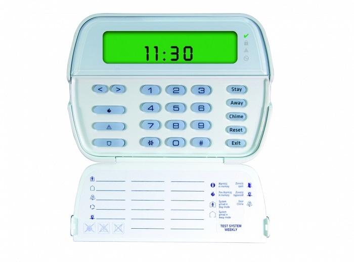 TASTATURA LCD ICON 64 ZONE CU MODUL RECEPTOR RADIO