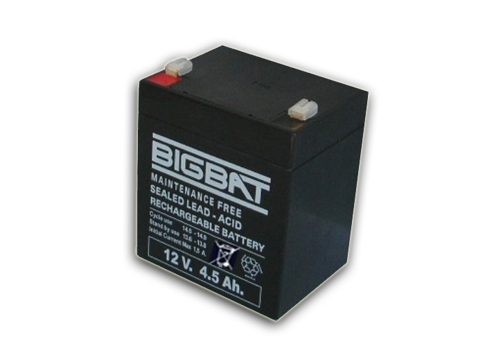 Acumulator BIG BAT, 4,5AH/12V.