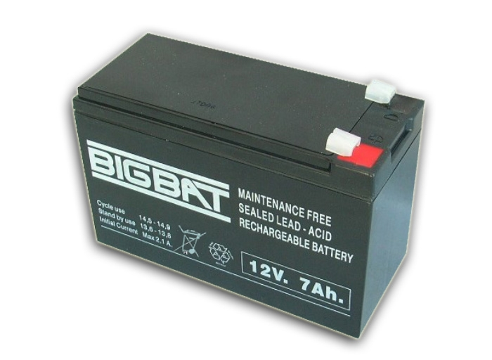 Acumulator BIG BAT, 7AH/12V.