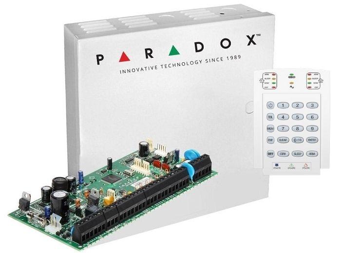 CENTRALA PARADOX SPECTRA + CUTIE SI TRAF + K10V