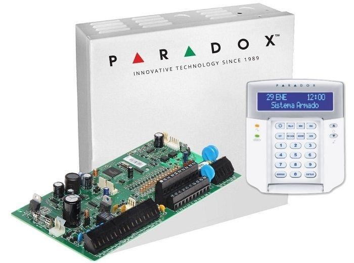 CENTRALA PARADOX SPECTRA + CUTIE SI TRAF + K32LCD